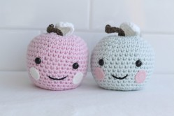Little Moppets Design- Crochet Apple $19