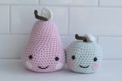 Little Moppets Design- Crochet Pear $32