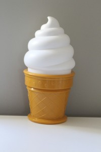 Ice cream lamp $22