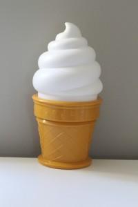 Ice cream lamp $22