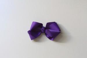 Iris bow clip $5.50