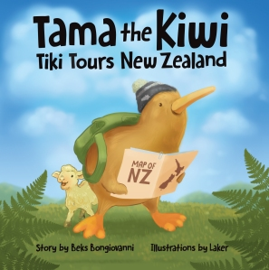 Tama the Kiwi_NZ_Flat_Front Cover