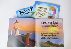 Tama the Kiwi_Sunrise Spread